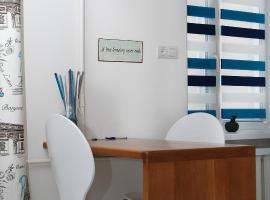 Бело-голубая безмятежность, готель у Чернігові