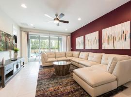 Kotedža Encore Resort 4135 6 Bedroom Water Park Orlando