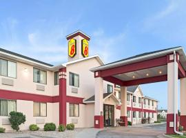 Super 8 by Wyndham Omaha Eppley Airport/Carter Lake, hotel in Omaha