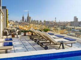 H10 Cubik 4* Sup, boutique hotel in Barcelona