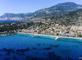 Appartement Avenue de la plage, hotel in Roquebrune-Cap-Martin