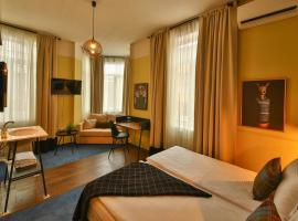JUST rooms & wine, hotel in Varna City