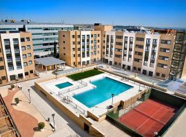 Compostela Suites, apartamento en Madrid