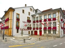 Hôtel du Port, Hotel in Estavayer-le-Lac