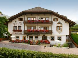 Hotel Rainegg, hotel a Lago di Braies tó környékén Valdaorában