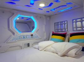 Galaxy Pods @ Chinatown, capsule hotel in Singapore