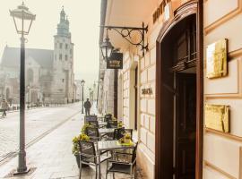 Hotel Senacki – hotel w pobliżu miejsca Pomnik Adama Mickiewicza w Krakowie