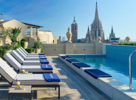 H10 Madison 4* Sup, hotel a Barcellona