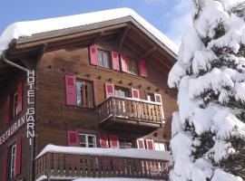 Hotel les Touristes, hotel in Verbier