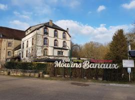 オーベルジュ デ ヴュー ムーラン バノ、Villeneuve-l'Archevêqueのホテル