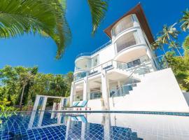 White Stone - Luxurious Villa with Sunset Views, hotel in Nathon
