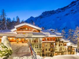 Saint Hubertus Resort, apartment in Breuil-Cervinia