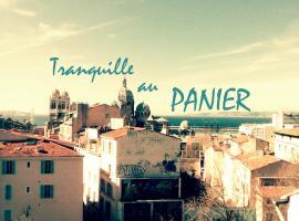 Tranquille au PANIER face à la mer, location de vacances à Marseille