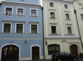 Hotel U Zlateho Andela, hotel v destinaci Pardubice