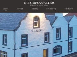 The Ships Quarters, hotel in Eyemouth