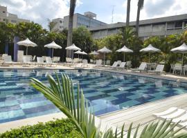 Radio Hotel Resort & Convention, hotel perto de Teleférico, Serra Negra