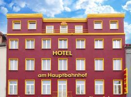 Hotel am Hauptbahnhof, hotel near Museum Schwerin, Schwerin