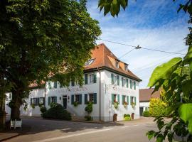 Storchen Restaurant Hotel, Hotel in Bad Krozingen