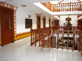 Hotel Misional、サンタ・クルス・デ・ラ・シエラのホテル