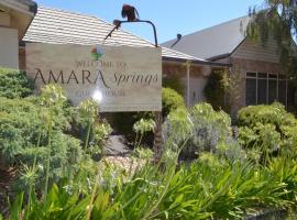 Amara Springs Guest House, B&B in Hepburn Springs