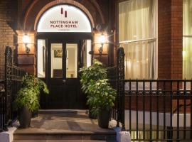 Nottingham Place Hotel, hotel near Madame Tussauds, London