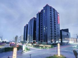 Ramada Hotel & Suites by Wyndham Ajman, hotel near Sharjah Golf and Shooting Club, Ajman
