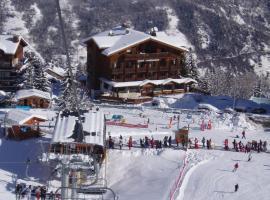 Ecrin Blanc Resort Courchevel, отель в Куршевеле