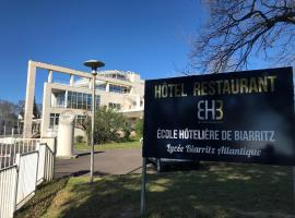 Hotel Biarritz Atlantique - Lycée Hotelier - Management School, отель в Биаррице