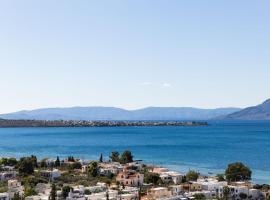 Villa Euphoria in Aegina, A' Marathonas bay, pet-friendly hotel in Aegina Town