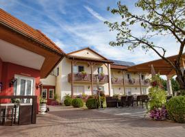 Viesnīca Hotel-Restaurant Teuschler-Mogg pilsētā Bādvaltersdorfa