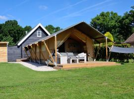 Safaritent, glamping site in Oostvoorne