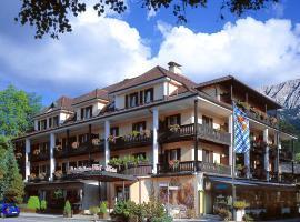 Reindl's Partenkirchener Hof, hotel with pools in Garmisch-Partenkirchen
