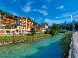 Hotel Grünberger superior, hótel í Berchtesgaden