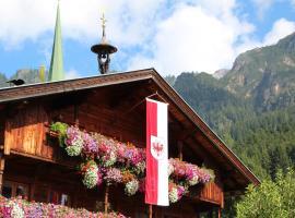 Moahof, Ferienwohnung in Alpbach
