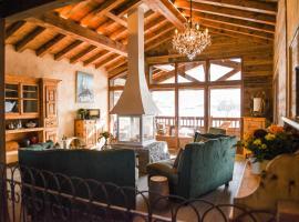 Chalets Grands Montets, cabin in Chamonix