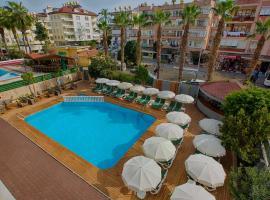 HMA Hotel & Suites, appartement in Alanya