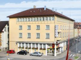 Hotel Goldener Hirsch, hotel en Friedrichshafen