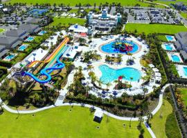 Encore Resort 1013 8 Bedroom Water Park, ваканционна къща в Орландо