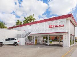 Ramada by Wyndham Miami Springs/Miami International Airport, hotel in Miami