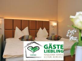 Hotel Friesen, hotel near Vogtland Kultur GmbH Neuberinhaus, Werdau
