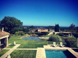 Villa Alba, budget hotel in Saint-Tropez
