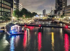 Wikkelboats, hotel near Rotterdam Blaak Station, Rotterdam
