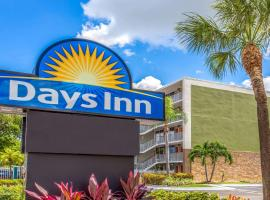 Days Inn by Wyndham Fort Lauderdale Airport Cruise Port, отель в Форт-Лодердейле