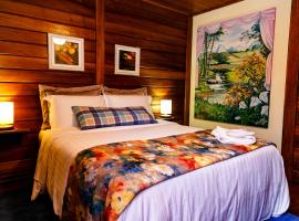 Chez Domaine Pousada Organica, accessible hotel in Pedra Azul