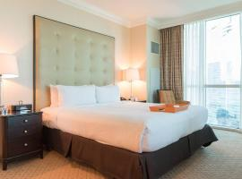 True 1BR Balcony Suite with Strip View at MGM Signature, serviced apartment in Las Vegas