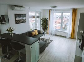 Design apartment, the city centre close to the health spa, apartmán v Piešťanoch