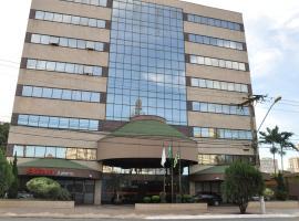 Crystal Plaza Hotel, hotel in Goiânia