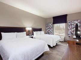 Hampton Inn & Suites Leavenworth, hotel v destinaci Leavenworth