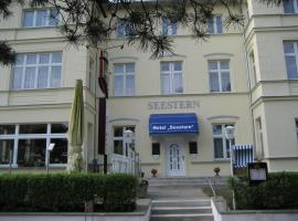 Hotel Seestern, Hotel in Zinnowitz