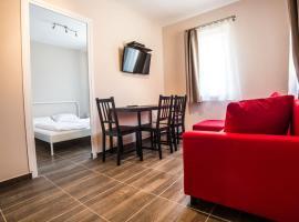 Tulipán Apartman, hotel a Szépasszony-völgy környékén Egerben